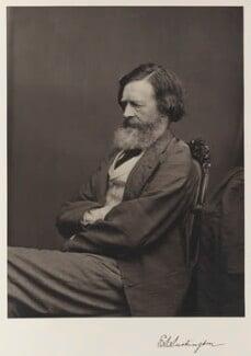 Edmund Law Lushington, by Thomas Annan - NPG Ax27842