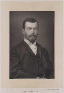 Nicholas II, Emperor of Russia, by W. & D. Downey, published by  Cassell & Company, Ltd - NPG Ax27893