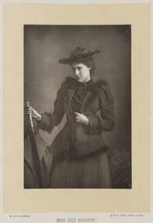 Lily Hanbury, by W. & D. Downey, published by  Cassell & Company, Ltd - NPG Ax27903