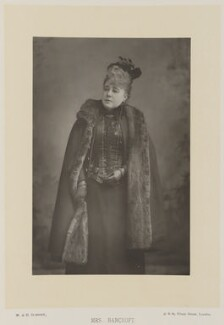 Marie Effie (née Wilton), Lady Bancroft, by W. & D. Downey, published by  Cassell & Company, Ltd - NPG Ax27909