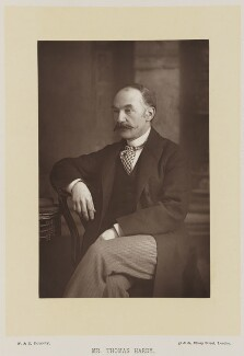 Thomas Hardy, by W. & D. Downey, published by  Cassell & Company, Ltd - NPG Ax27917