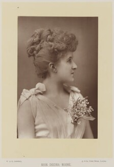(Lilian) Decima Moore, by W. & D. Downey, published by  Cassell & Company, Ltd - NPG Ax27924