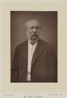 King Albert I of Saxony, by W. & D. Downey, published by  Cassell & Company, Ltd, published 1894 - NPG Ax27928 - © National Portrait Gallery, London