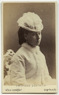 Princess Beatrice of Battenberg, by W. & D. Downey - NPG Ax28411