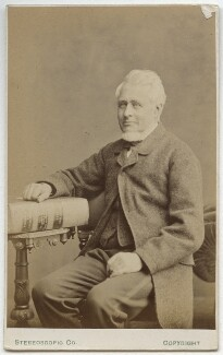 Frederick Bowker, by London Stereoscopic & Photographic Company - NPG Ax28427
