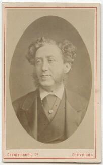 Albert Grant, Baron Grant (né Abraham Gottheimer), by London Stereoscopic & Photographic Company - NPG Ax28470