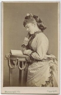 Maria Harris (Maria Elizabeth Glossop), by London Stereoscopic & Photographic Company - NPG Ax28482