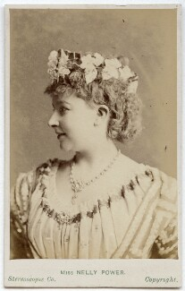 Nelly Power as Glaucus in 'The Very Last Days of Pompeii', by London Stereoscopic & Photographic Company - NPG Ax28483
