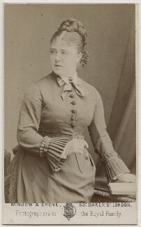 Marie Effie (née Wilton), Lady Bancroft, by Window & Grove - NPG Ax28484