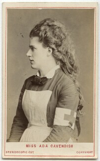 Ada Cavendish (later Marshall) as Mercy Merrick in 'The New Magdalen', by London Stereoscopic & Photographic Company - NPG Ax28487