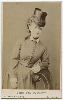 Amy Fawsitt (Mrs Menzies), by London Stereoscopic & Photographic Company - NPG Ax28490