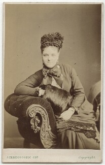 Kate Bishop, by London Stereoscopic & Photographic Company - NPG Ax28494