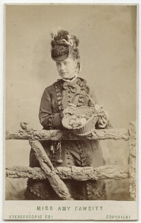 Amy Fawsitt (Mrs Menzies), by London Stereoscopic & Photographic Company - NPG Ax28505