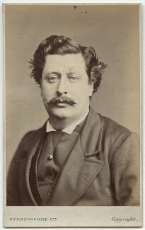 Unknown man, formerly known as Samuel Anderson Emery, by London Stereoscopic & Photographic Company - NPG Ax28517