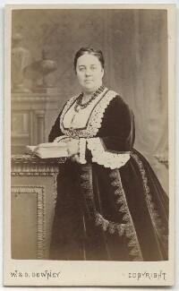 Charlotte Helen Sainton-Dolby, by W. & D. Downey - NPG Ax28526