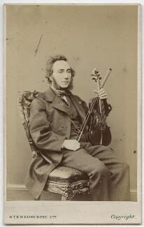 Ernesto Camillo Sivori, by London Stereoscopic & Photographic Company - NPG Ax28533