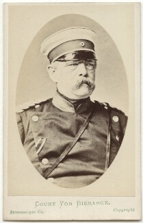 Prince Otto Edward Leopold von Bismarck-Schonhausen, by London Stereoscopic & Photographic Company - NPG Ax28553