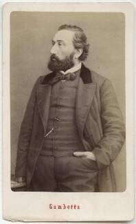Léon Gambetta, by Etienne Neurdein, after  Unknown artist - NPG Ax28556