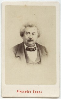 Alexandre Dumas, by Etienne Neurdein, possibly after  Charles Reutlinger - NPG Ax28560