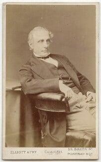 Alexander William Kinglake, by Elliott & Fry - NPG Ax28567