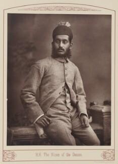 Mahbub Ali Khan, Nizam of Hyderabad, by Unknown photographer - NPG Ax28668