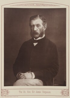 Sir James Fergusson of Kilkerran, 6th Bt, by James Russell & Sons - NPG Ax28672