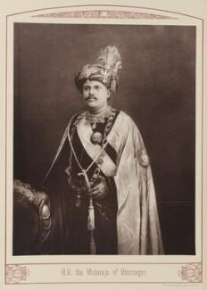 Sir Takhtsinghji Jaswantsinghji Bhaunagar Thakur, by Unknown photographer - NPG Ax28677
