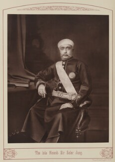 Sir Salar JunJay Singh Rao, Raja of Kagalg, by Unknown photographer - NPG Ax28679