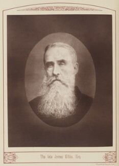 James Gibbs, by Unknown photographer, published 1889 - NPG Ax28680 - © National Portrait Gallery, London