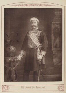 Sir Asman Jah of Hyderabad, by Unknown photographer - NPG Ax28682