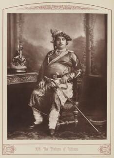 Thakur Saheb Sir Mansinghji Sursinghji of Palitana, by Unknown photographer - NPG Ax28685