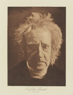 Sir John Frederick William Herschel, 1st Bt, by Julia Margaret Cameron, published by  T. Fisher Unwin, published 1893 (1867) - NPG Ax29135 - © National Portrait Gallery, London