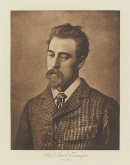 Hon. Lionel Tennyson, by Henry Herschel Hay Cameron (later The Cameron Studio), published by  T. Fisher Unwin - NPG Ax29137
