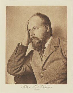 Hallam Tennyson, 2nd Baron Tennyson, by Henry Herschel Hay Cameron (later The Cameron Studio), published by  T. Fisher Unwin, published 1893 (circa 1890) - NPG Ax29136 - © National Portrait Gallery, London