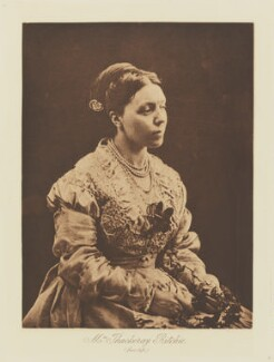 Anne Isabella (née Thackeray), Lady Ritchie, published by Julia Margaret Cameron, after  T. Fisher Unwin - NPG Ax29143