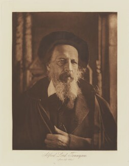 Alfred, Lord Tennyson, by Henry Herschel Hay Cameron (later The Cameron Studio), published by  T. Fisher Unwin - NPG Ax29149