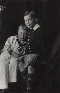 Prince George, Duke of Kent; Prince John, by Lafayette, 1909 - NPG Ax29366 - © National Portrait Gallery, London