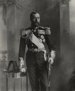 King George V, by Lafayette - NPG Ax29376