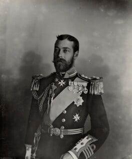 King George V, by Lafayette - NPG Ax29377