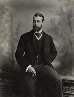 King George V, by Lafayette - NPG Ax29384