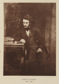 Robert Adamson, after David Octavius Hill, and  Robert Adamson, 1843-1848; published 1928 - NPG Ax29501 - © National Portrait Gallery, London