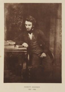 Robert Adamson, after David Octavius Hill, and  Robert Adamson, 1843-1848; published 1928 - NPG Ax29501 - © National Portrait Gallery, London