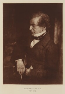 William Etty, after David Octavius Hill, and  Robert Adamson - NPG Ax29503