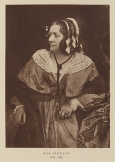 Anna Brownell Jameson, after David Octavius Hill, and  Robert Adamson - NPG Ax29504