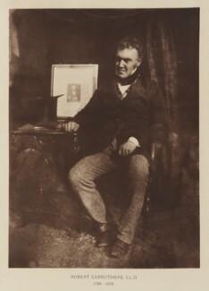 Robert Carruthers, after David Octavius Hill, and  Robert Adamson - NPG Ax29506