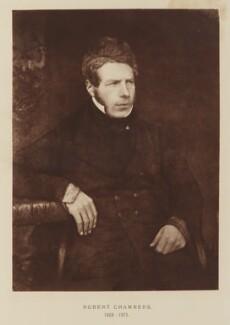 Robert Chambers, after David Octavius Hill, and  Robert Adamson - NPG Ax29511