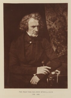 Sir John McNeill, after David Octavius Hill, and  Robert Adamson - NPG Ax29513