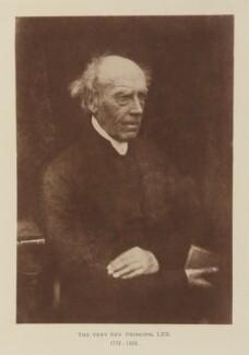 John Lee, after David Octavius Hill, and  Robert Adamson - NPG Ax29514