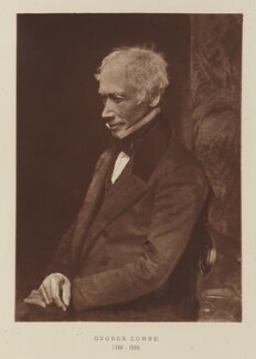 George Combe, after David Octavius Hill, and  Robert Adamson - NPG Ax29518