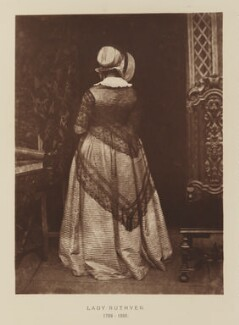 Mary Ruthven (née Campbell), Lady Ruthven, after David Octavius Hill, and  Robert Adamson - NPG Ax29519